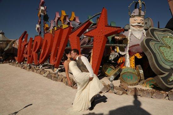 Scenic Las Vegas Weddings Chapel Neon Sign Museum