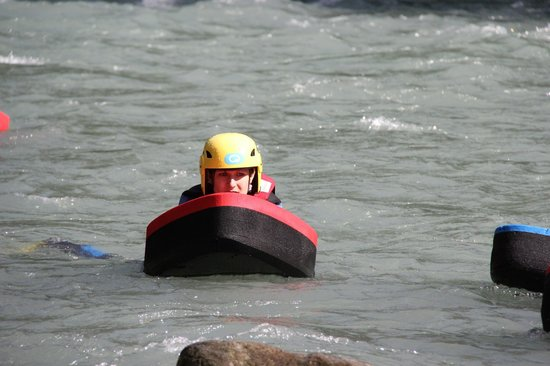 H2o Sport - Évolution 2 Peisey-Vallandry : Vue de face de l'hydrospeed