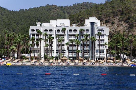 Fantasia Hotel De Luxe Marmaris: View From The Sea