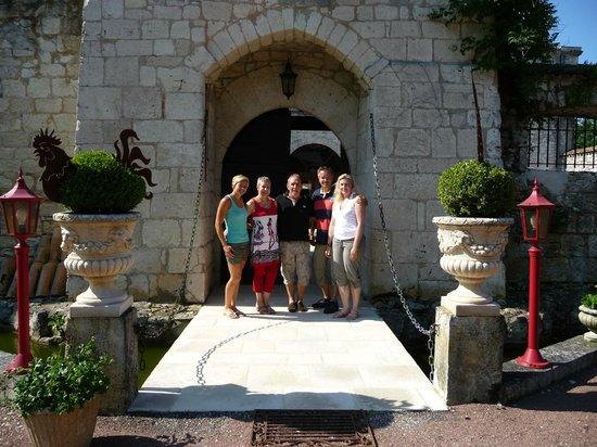 chateau de scandaillac : Ägarfamiljen och vi