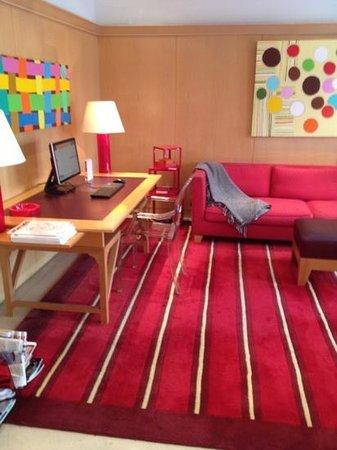 Hotel Le Vignon: lobby