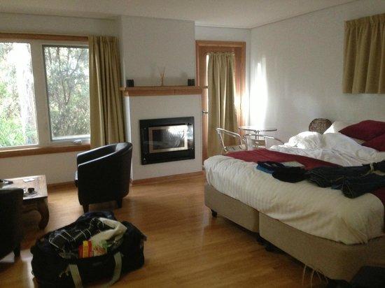 Lake St Clair Lodge: Studio Cabin Room