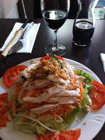 Hong Hoa : Entrée (salade vietnamienne)