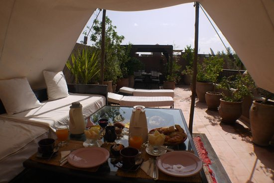 Riad Massiba: beautiful breakfast
