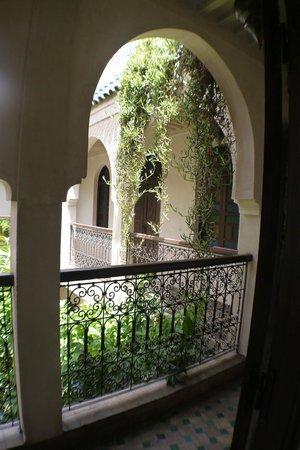 Riad Massiba: view from the balcony