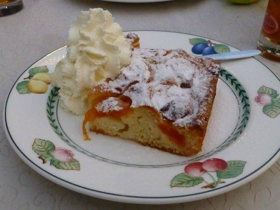 Landgasthof Trattnig: Torta di albicocche