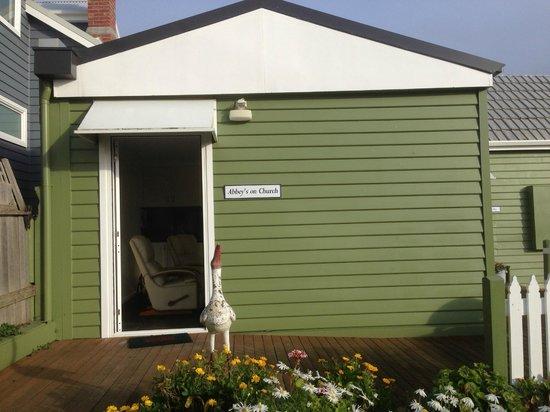 Abbey's Cottages: Front Door
