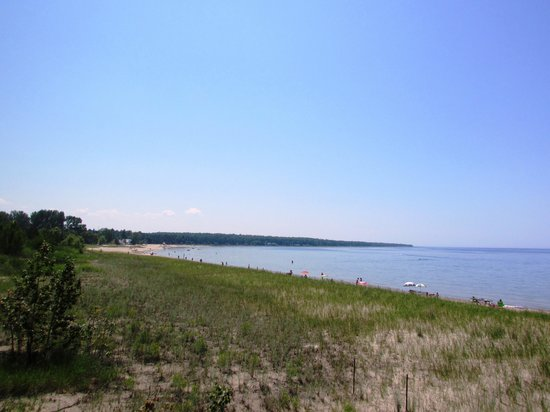 Inverhuron Provincial Park: The beach