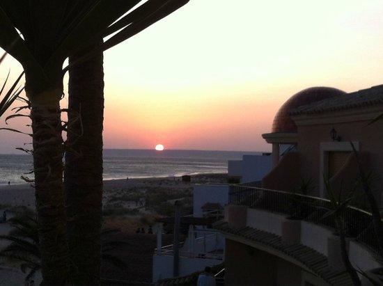 Gran Sol Hotel: Puesta del sol