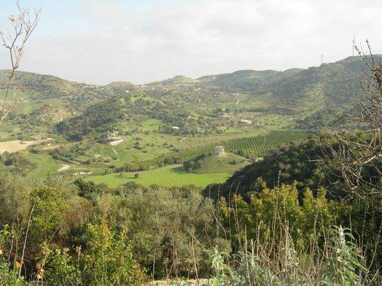 Le campagne di Mineo, monti Iblei