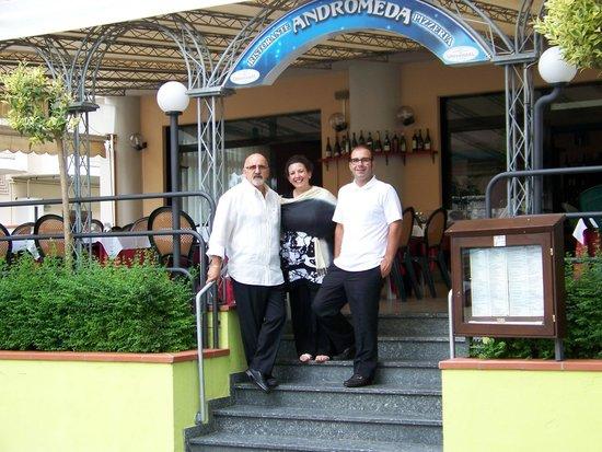 Ristorante Pizzeria Andromeda: lo staff