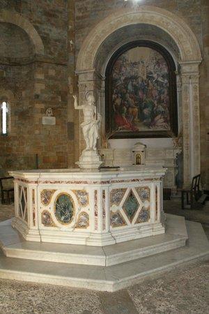 Baptistery: Inside the Baptistry