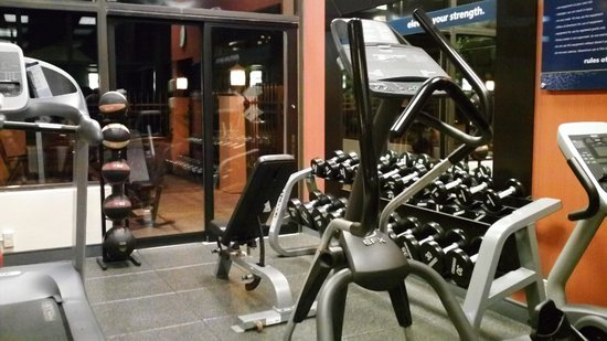 Hampton Inn Asheville - I-26 Biltmore Area : Precor fitness center