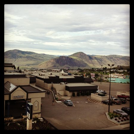 Hampton Inn by Hilton Kamloops: view from my room