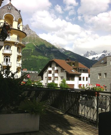 Hotel Schweizerhof: View from the balcony