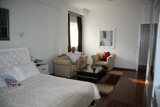 Hotel AFA Residence : De zithoek in de hotelkamer