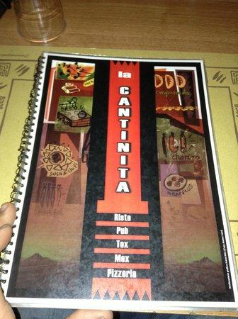La Cantinita: menu