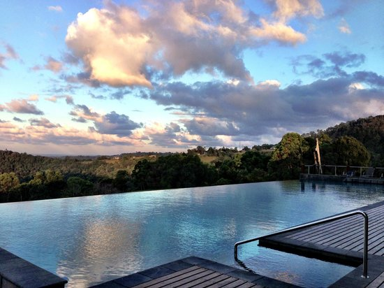 Gwinganna Lifestyle Retreat: view from one of the pools
