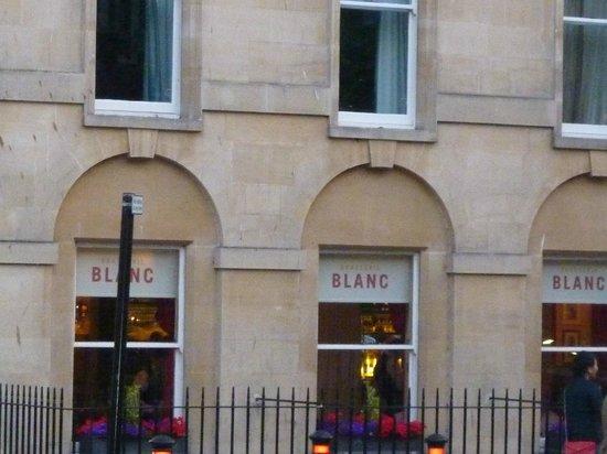 Brasserie Blanc: Côté parc