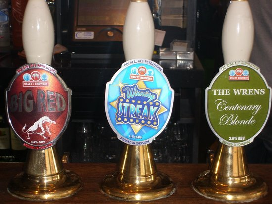 The Wrens Hotel: New Range of Real Ales