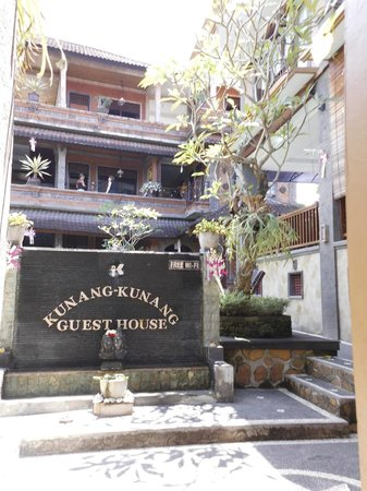 Entrance to the Kunang-Kunang Guesthouse