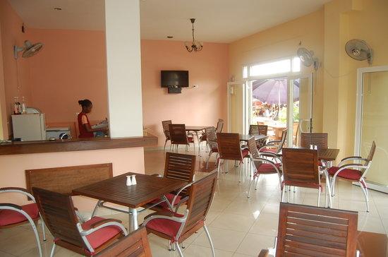 Hotel le Badamier : Cafétaria