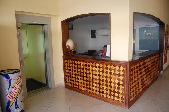 Hotel le Badamier : Ascenseur