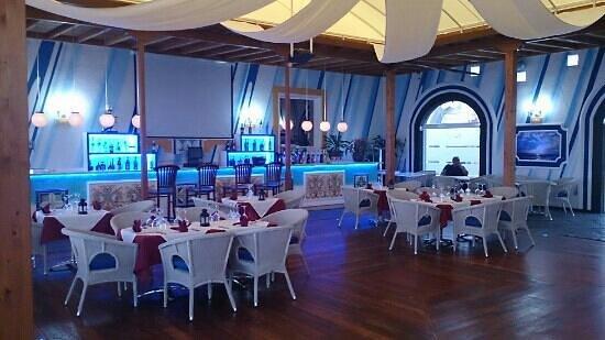Cafe Del Mar: patio interior