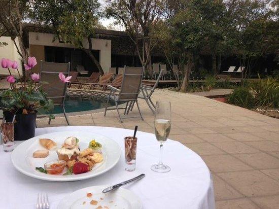 Stillpoint Country Manor: Romantic Poolside Platter