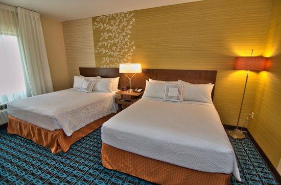Fairfield Inn & Suites Towanda Wysox: Double Room