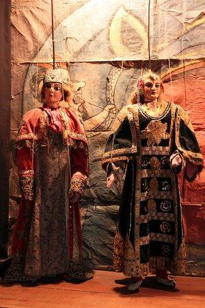 Il Museo internazionale delle marionette : Marionette