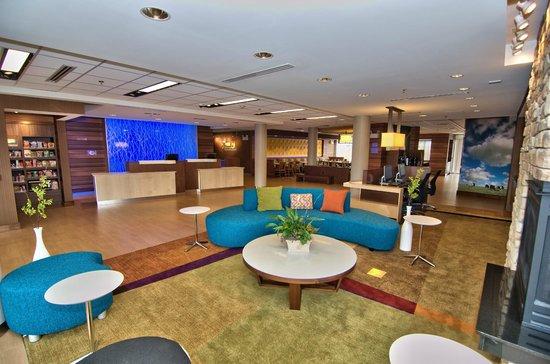 Fairfield Inn & Suites Towanda Wysox: Lobby