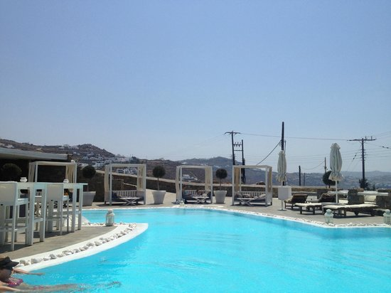 Rocabella Mykonos Hotel & SPA: the day beds!