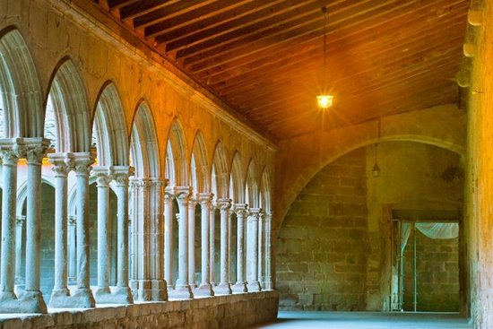 Abbaye de Saint Hilaire Nuit
