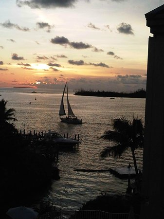The Galleon Resort And Marina: Sunset in Key West from The Galleon Resort
