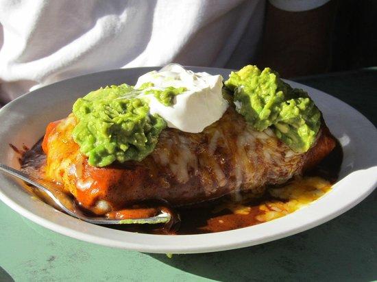 La Playita: Combination Burrito