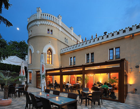 Chateau St. Havel - wellness hotel: Garden restaurant