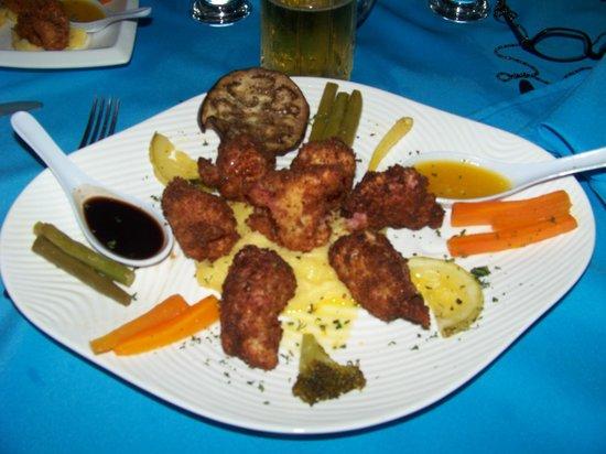 Restaurante El Marlin: Shrimp