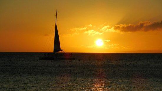 Ka'anapali Beach: Puesta de sol
