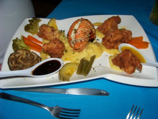 Restaurante El Marlin: Lobster and Shrimp