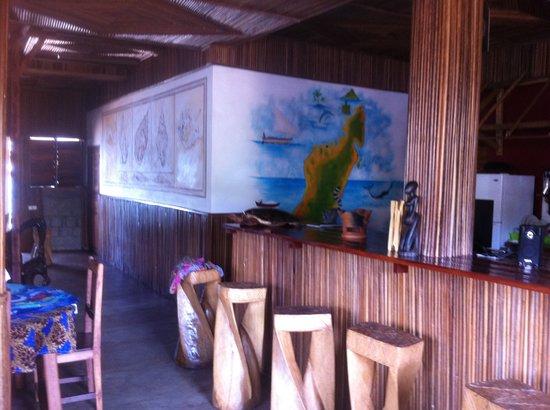 Gite Guyan: Le bar.