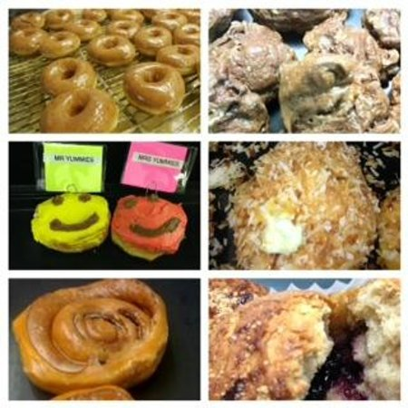 Yummies: Donuts made by hand and from scratch daily!