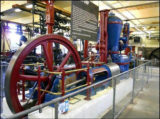 Bradford Industrial Museum: engines