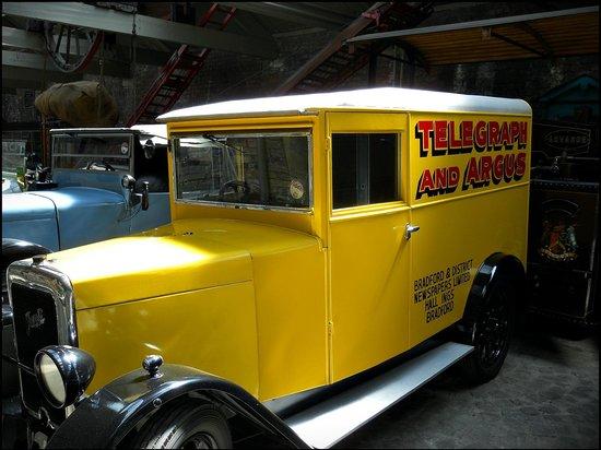 Bradford Industrial Museum: vintage car