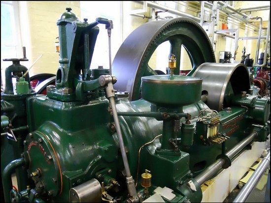 Bradford Industrial Museum: old steam engine