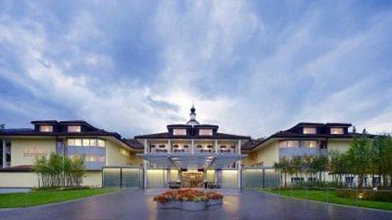 Hotel Hof Weissbad: Hoteleingang