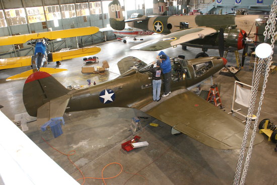 Always work going on - Picture of Central Texas Wing of the