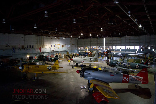 Central Texas Wing of the Commemorative Air Force: Hangar