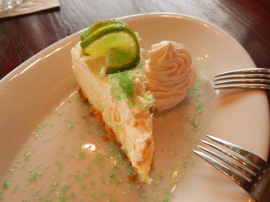 The Abbey Resort: Delicious Key Lime Dessert at the Waterfront Restaurant and Bar