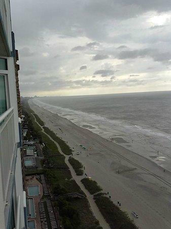Carolinian Beach Resort: Facing North - 18th floor